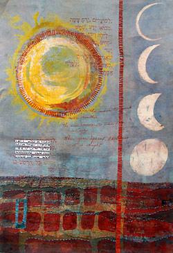 art quilt by Joanne Weis
