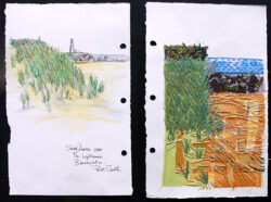 Dunes, Breakwater and Lighthouse – Point Judith