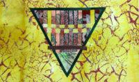 Earth, art quilt by Joanne Weis