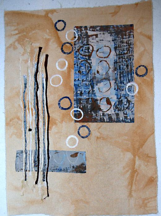 fiber art by Joanne Weis