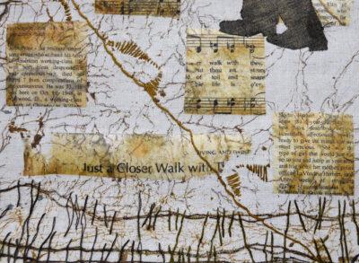 mixed media art by Joanne Weis